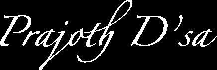 Prajoth D'sa Music